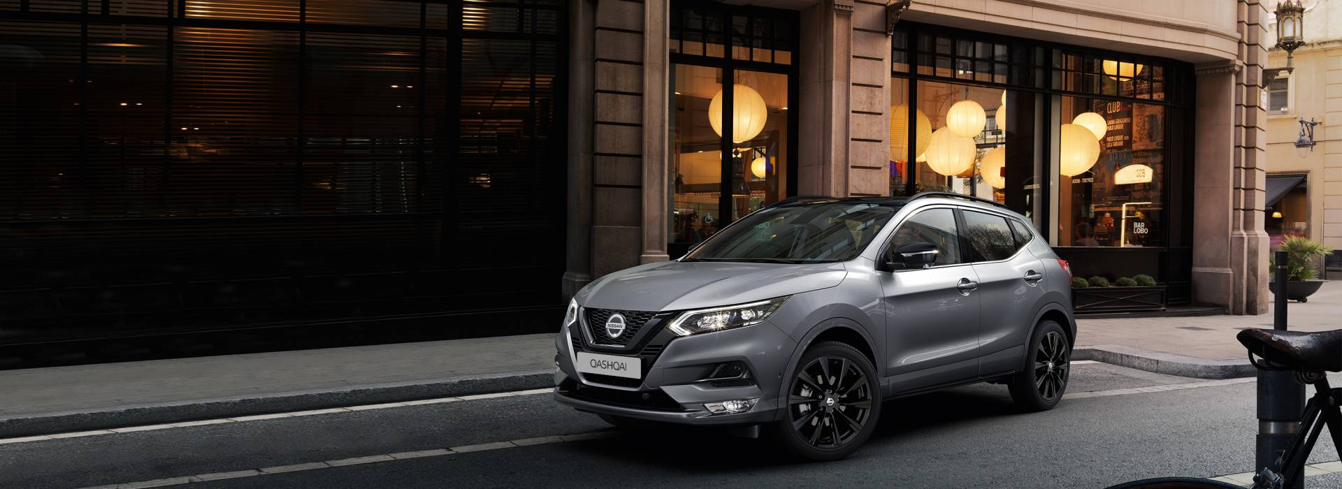 "<font size:""7""> NISSAN QASHQAI <br>MIDNIGHT EDITION <br></font>"